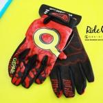 ถุงมือเจลเต็มนิ้ว QEPAE - Red