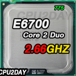[775] Core 2 Duo E6700 (4M Cache, 2.66 GHz, 1066 MHz FSB)