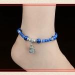 สร้อยข้อเท้าย้อนยุค Anklets Blue Urnan