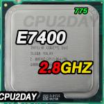 [775] Core 2 Duo E7400 (3M Cache, 2.80 GHz, 1066 MHz FSB)