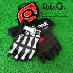 ถุงมือเจลครึ่งนิ้ว QEPAE รุ่น SKULLY