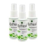 สเปรย์ระงับกลิ่นกาย Refresh (ไม่มีกลิ่น) 60 ml. (1ขวด)