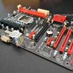 [MB 1155] Biostar TH61A D3/1600 GBLAN + เพลตหลัง