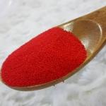 ECO BEADS เม็ดสครับธรรมชาติ สีแดง