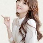 วิกผมยาวดันลอน แนวเกาหลี สไตล์น่ารักฟินๆ (สีน้ำตาลอ่อน )