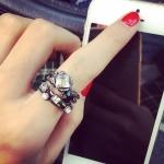 แหวน set แฟชั่นเกาหลี D2