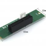 ตัวแปลง M2 เป็น PCI-E NGFF แถมไขควงเล็ก