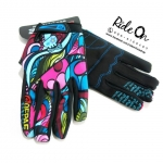 ถุงมือเจลเต็มนิ้ว QEPAE รุ่น COLORFUL