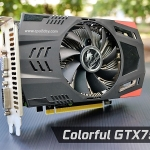 Colorful GTX750/GDDR5/128BIT/1G