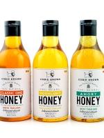Cobie Brown Collection : Pure Natural Honey Thailand น้ำผึ้งเกสรป่าธรรมชาติ ขนาด 380G. x 3 ขวด (เลือกรสได้)