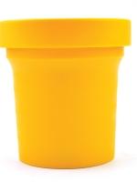 Cobie Brown : น้ำตาลช่อดอกมะพร้าว ออร์แกนิคแท้ 100% ขนาด 600 กรัม กระปุกเหลือง
