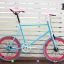 VENTUS Mini Fixed Gear - Pink/Blue thumbnail 1