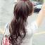 hair piece ทนความร้อนเกาหลี (สีดำ) thumbnail 1