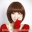 วิกผมบ๊อบทนความร้อนเกาหลี(สีน้ำตาลเข้ม) thumbnail 2