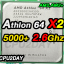 [AM2] Athlon 64 X2 5000+ 2.6GHz thumbnail 1