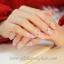 เล็บปลอมแฟชั่นประดับดอกไม้ ติดเพชรสีชมพู (Pink Nails) กล่องละ24ชิ้น (พร้อมกาวอย่างดี1หลอด) thumbnail 1