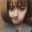 วิกผมสั้นเกาหลี สุดน่ารัก สไตล์เกาหลี สดใส (สีน้ำตาลอ่อน ) thumbnail 2