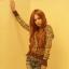 วิกผมยาวลอนทนความร้อนเกาหลี(สีน้ำตาลอ่อน) thumbnail 4
