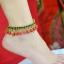 สร้อยข้อเท้า Anklets Red Handbell A+ thumbnail 1