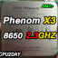 [AM2+] Phenom X3 8650 2.3Ghz thumbnail 2