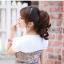 hair pieceเกาหลี ทนความร้อนอย่างดี(สีดำ) thumbnail 1