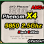 [AM2+] AMD Phenom X4 985Z 2.5Ghz (125W, BE) Black Edition thumbnail 2
