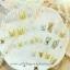 เล็บปลอมไฮโซคุณภาพสีทองสลับเงินประดับเพชรพลอย(Claire's)ไม่ทำให้เล็บเสีย กล่องละ24ชิ้น พร้อมกาวอย่างดี1หลอด thumbnail 7