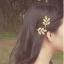 กิ๊ฟติดผมทองดอกไม้ห้ากลีบ thumbnail 2