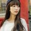 วิกผมหน้าม้ายาวทนความร้อน เกาหลี สวยใส น่ารัก มีสไตล์ (สีน้ำตาลเข้ม) thumbnail 2