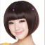 วิกผมบ็อบสั้นหน้าม้าเกาหลี น่ารัก สวยใส ดูออนเยาว์ (สีดำ ) thumbnail 3