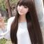 วิกผมยาวตรงทนความร้อนเกาหลี(สีน้ำตาลอ่อน) thumbnail 1