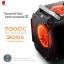 [ เคส+ซัพพาย ] ATX Case (NP) Tsunami Gorilla (Black/Red) (ไม่มีซัพพาย) thumbnail 3