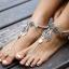 สร้อยข้อเท้า Silver Vintage Fashion Accessories Ankle thumbnail 1