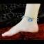 สร้อยข้อเท้า โมรา DIY 21B เกาหลี น้ำทะเลสีฟ้า thumbnail 4
