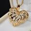 สร้อยคอเกาหลีรูปหัวใจฟักทอง thumbnail 3