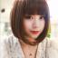 วิกผมสั้นเกาหลี ทรงน่ารัก ลุคแบ๊วๆ (สีน้ำตาลเข้ม) thumbnail 3