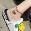 สร้อยข้อเท้า เชือกสายรุ้งแฟนตาซีรูปหน้ายิ้มสีเหลือง แฟชั่น thumbnail 3