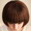 วิกผมบ็อบสั้นหน้าม้าเกาหลี น่ารัก สวยใส ดูอ่อนเยาว์ (สีน้ำตาลอ่อน ) thumbnail 7