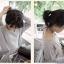 hair piece ทนความร้อนผมตรงเกาหลี (สีดำ) thumbnail 7
