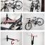 อุปกรณ์แขวนจักรยานติดผนัง - Bicycle wall hook thumbnail 3