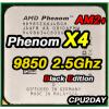 [AM2+] AMD Phenom X4 9850 2.5Ghz (125W, BE) Black Edition