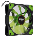 Aigo พัดลมติดเคส 12CM เขียว