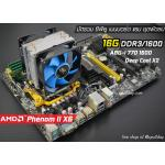 [SET AM3] Phenom II X6 1055T 2.8Ghz + Foxconn A8G-i 770 + DDR3 1600 16G + Deep Cool x2