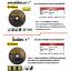 แผ่นตัดไฟเบอร์ 7 นิ้ว (ใบตัดไฟเบอร์) GoBern thumbnail 2