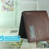 กระเป๋าสตางค์ผู้ชาย MP084 [สีน้ำตาล]