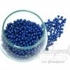 ลูกปัดมุกพลาสติก 4มิล สีน้ำเงิน (450 กรัม)