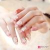 เล็บปลอมเกาหลี ลายA-07 gradient color nail sculpting