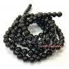 หิน นิลดำ(onyxl) 8มิล (47 เม็ด)