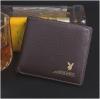 กระเป๋าสตางค์ผู้ชาย PL003 [สีน้ำตาล]