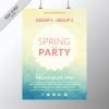 โปสเตอร์ Poster สไตล์การออกแบบดีไซน์แบบไล่ระดับสีทำให้ดูหวานๆสดใส โปสเตอร์ ไว้สำหรับ แจ้งประชาสัมพันธ์กิจกรรม // ตัวอย่างดีไซน์ โปสเตอร์ Poster โปสเตอร์โฆษณา โปสเตอร์สวยๆ Chill Shop Package